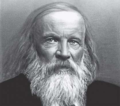Thanks Dmitri Mendeleev, father of chemistry!