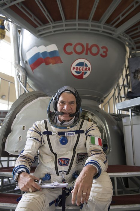 Major Paolo Angelo Nespoli is an Italian astronaut : A 60 years old man in space