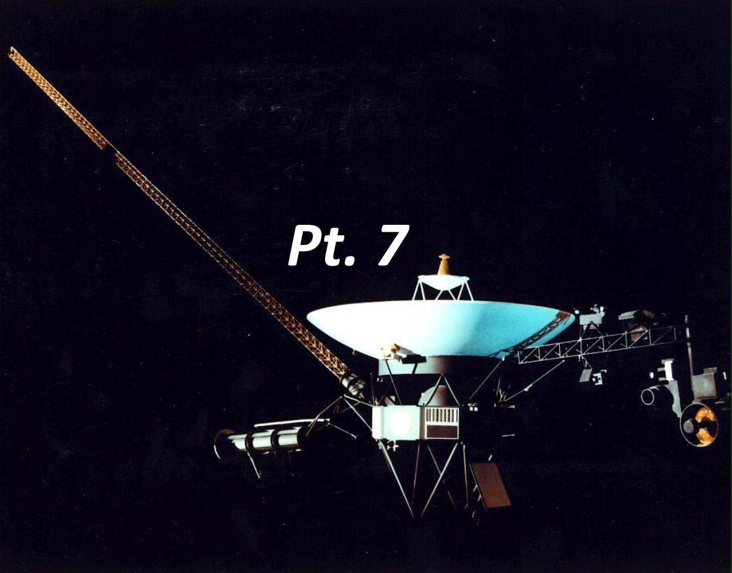 Voyager's structure: How is it made? Pt. 7