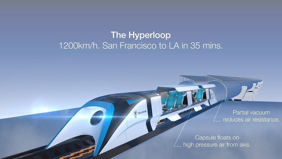 Elon Musk: Hyperloop
