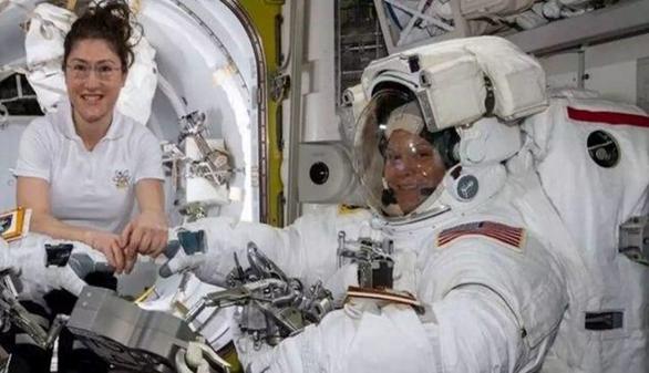 First All Women Spacewalk