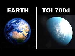 NASA FOUND A NEW PLANET CALLED TOI -700
