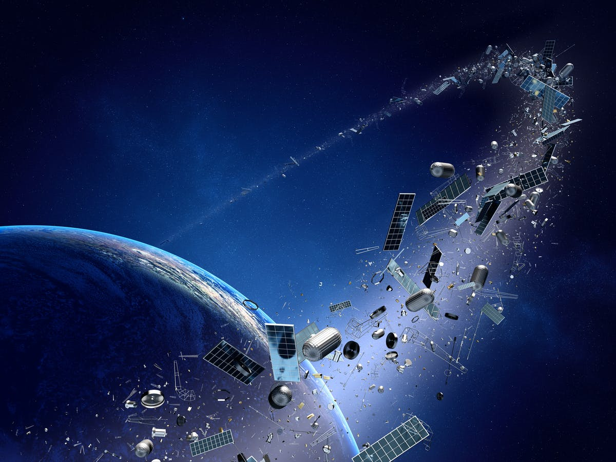 Recycling in space