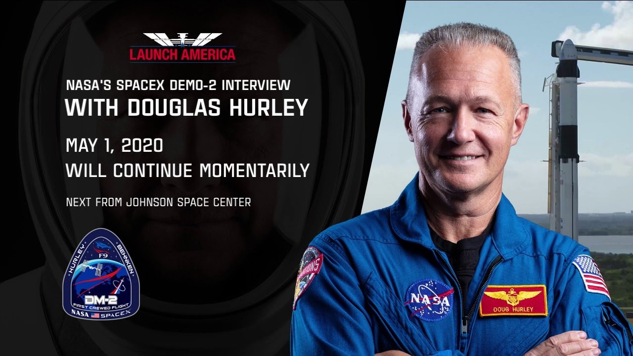 SpaceX crew Dragon: Douglas Hurley