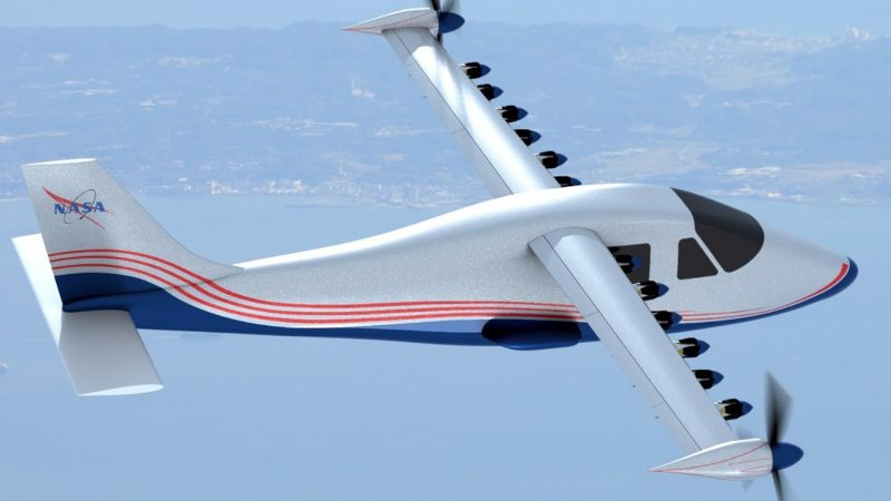 NASA: Work in Progress with its First Electric Airplane