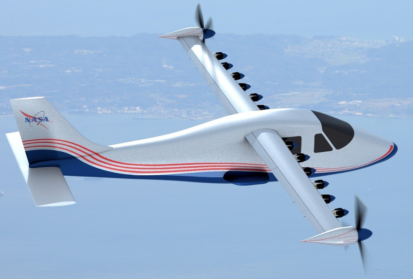 NASA's Work in Progress with its First Electric Airplane
